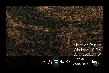 Modo de Prueba Windows 10 Pro