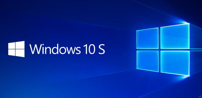 Windows 10 S - Nuevo fondo