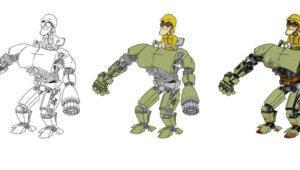 Midas Physics Creature, la herramienta de Pixar para animación 2D con IA