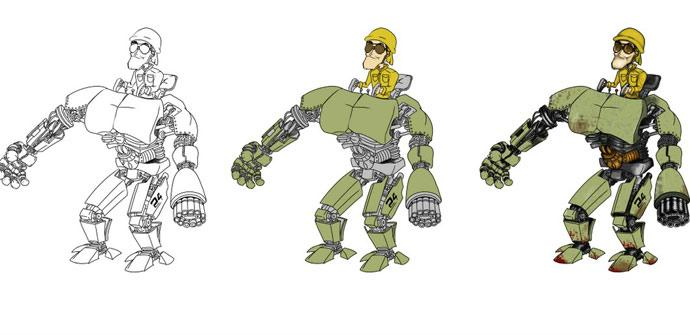 Pixar animación 2D