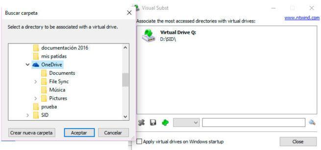 unidades virtuales