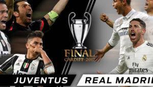 Cómo ver la final de Champions entre Juventus y Real Madrid esta noche