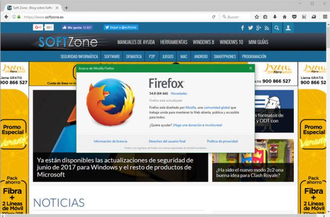 Firefox 54