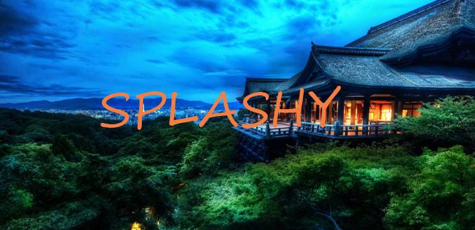 Splashy fondo de pantalla