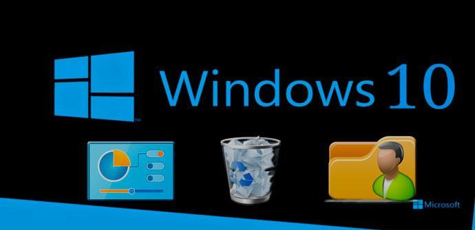 iconos Windows 10 barra tareas
