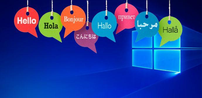 idioma Windows 10