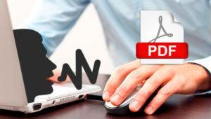 Aplicaciones gratis para leer PDF en voz alta