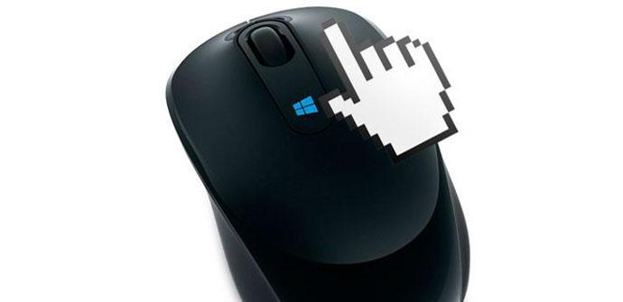 Puntero ratón Windows 10