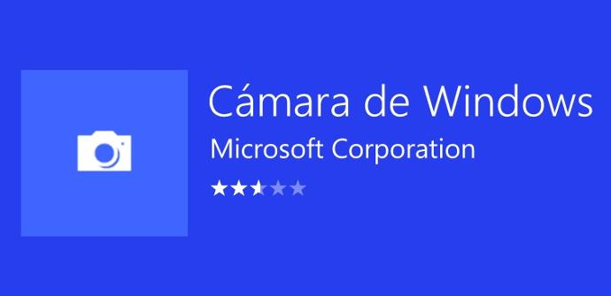 Cámara de Windows 10