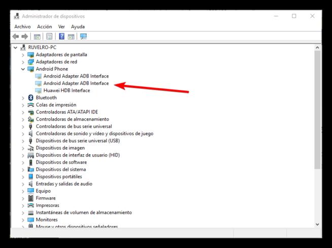 Controladores no utilizados en Windows