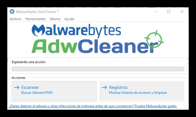 Malwarebytes AdwCleaner 7