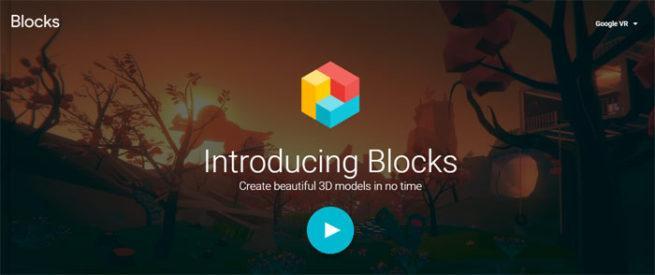 VR 3D Blocks