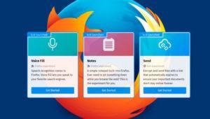 Voz, Notas y Envíos cifrados, las nuevas funciones que llegarán a Firefox