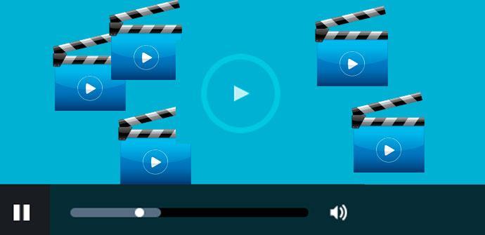 reproducir vídeos a la vez
