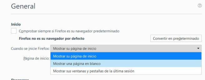 acelerar Firefox