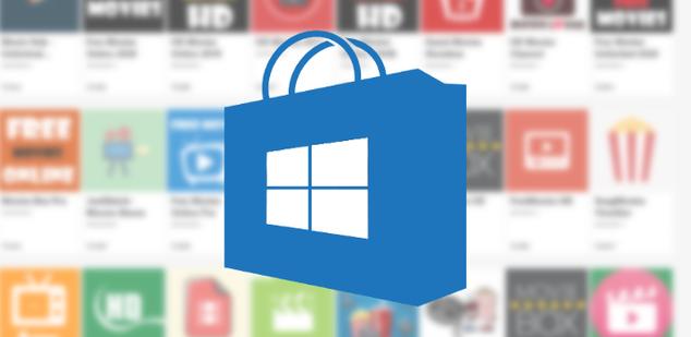 Aplicaciones pirata Windows Store