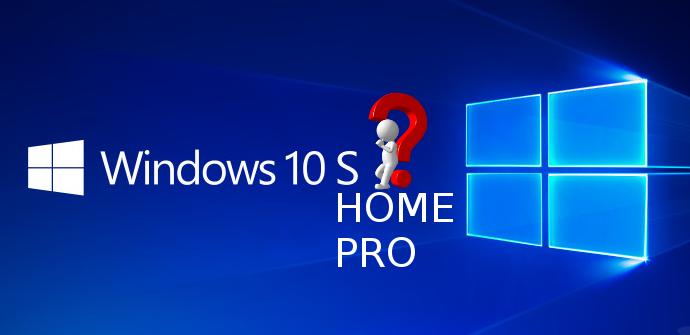 Elegir versión Windows 10