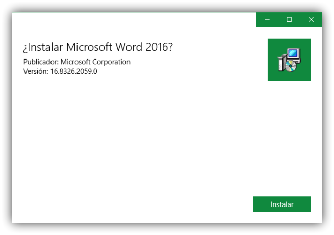 Instalar Microsoft Word Windows Store