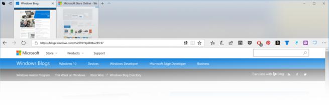 Microsoft Edge Fluent Design