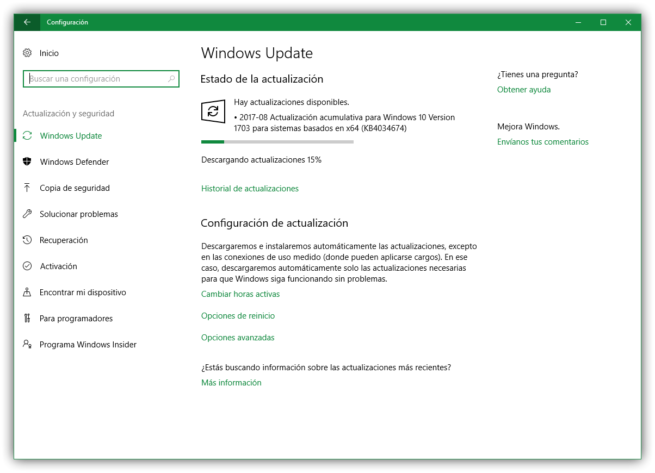 Parche seguridad KB4034674 Windows 10