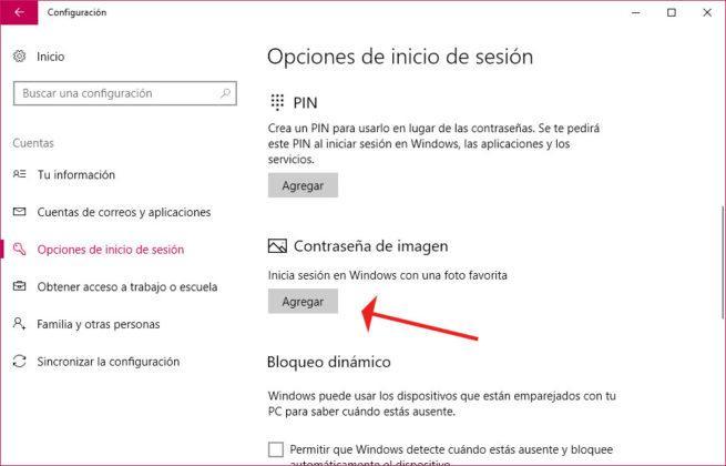 iniciar sesión en Windows 10
