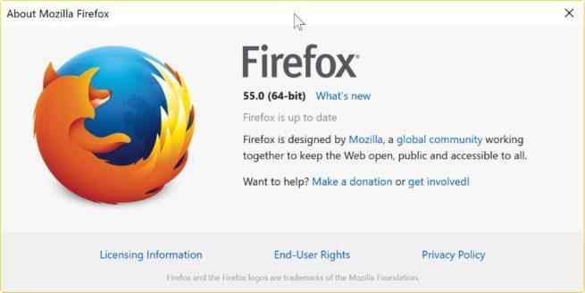 Firefox 55