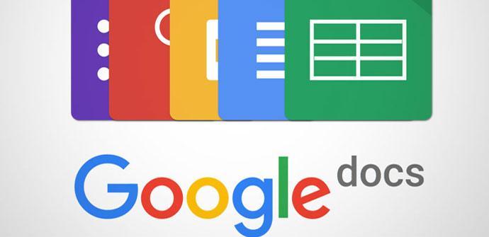 Actualización Google Docs
