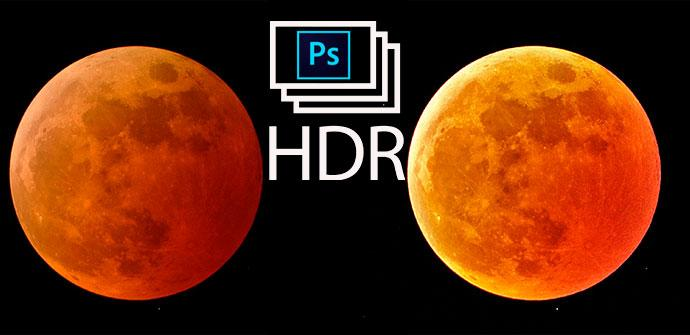 HR photoshop eclipse lunar