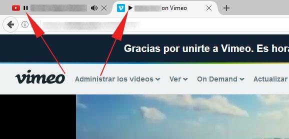 pausar reproducciones en Firefox