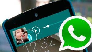 Ahora podrás oír mensajes de voz de WhatsApp desde las notificaciones
