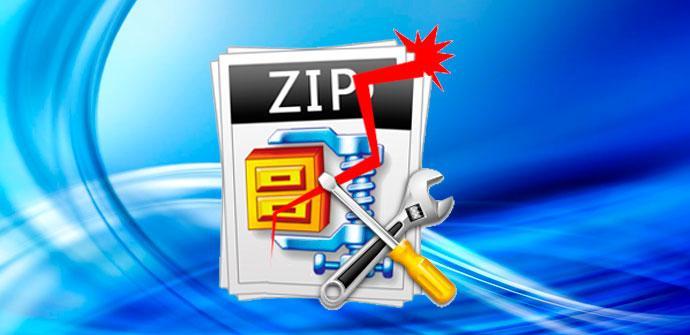 zip dañado