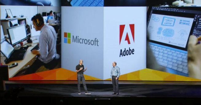 Alianza Adobe Microsoft