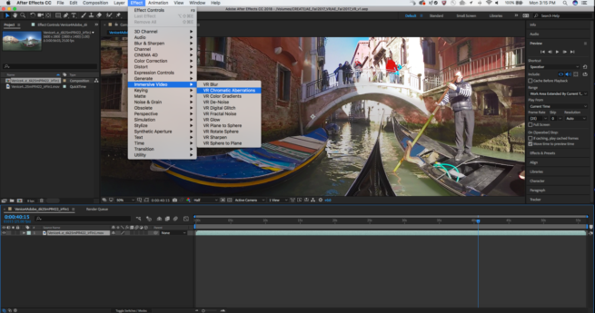 After Effects - Immersive Video Toolset