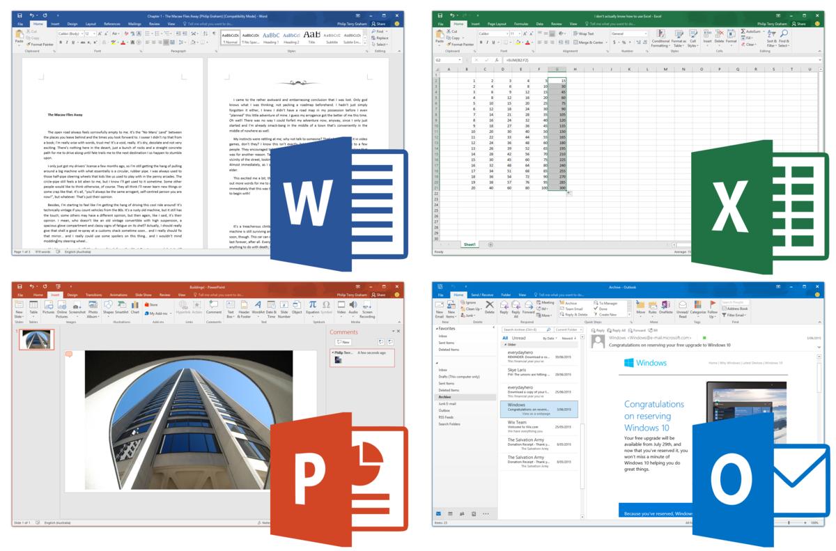 Resultado de imagen de Microsoft Office 2019