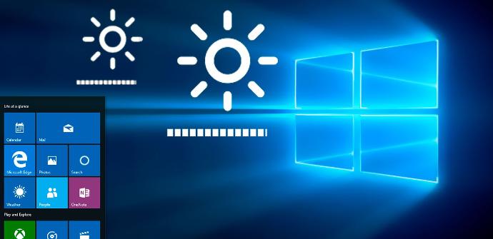 Brillo Windows 10