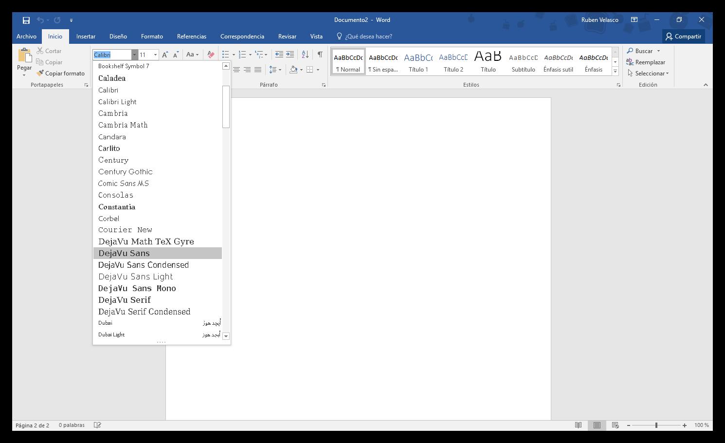 como instalar fuentes en word windows 10
