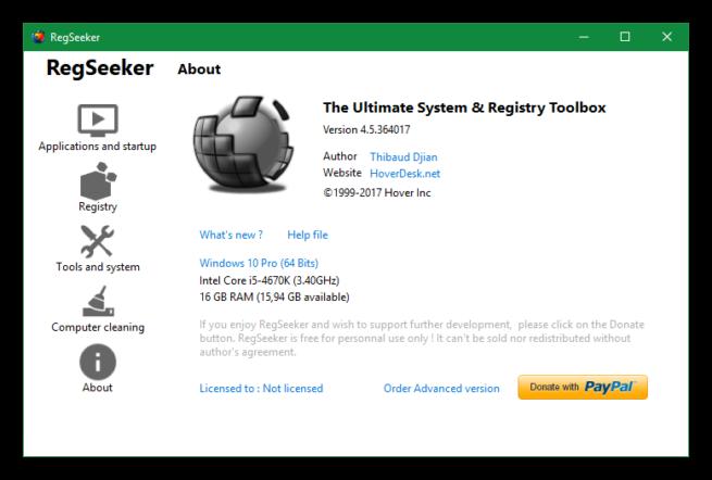 RegSeeker 4.5