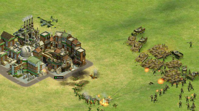 Rise of Nations Windows 10 - Tanques