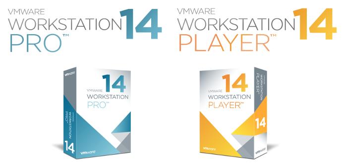 VMware Workstation 14 Logo
