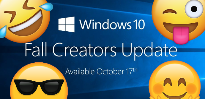 Windows 10 Fall Creators Update Emoji
