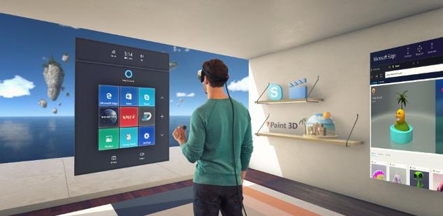 Windows Mixed Reality - Microsoft Realidad Mixta