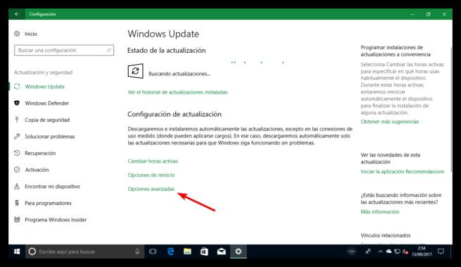Windows Update Windows 10 Fall Creators Update
