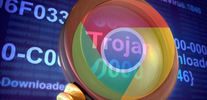 troyano adservice en google chrome