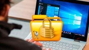 Bloquea y desbloquea archivos de todo tipo en Windows 10
