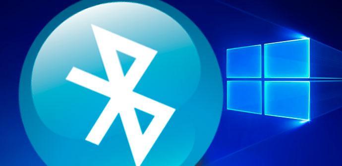 icono bluetooth en windows