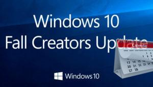 Se filtra la fecha de lanzamiento de Windows 10 Fall Creators Update
