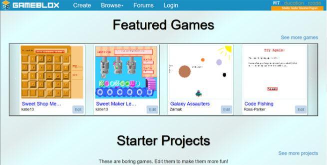 Programar con GameBlox