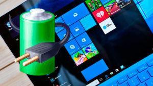 Así puedes cambiar con un clic entre tus planes de energía en Windows 10
