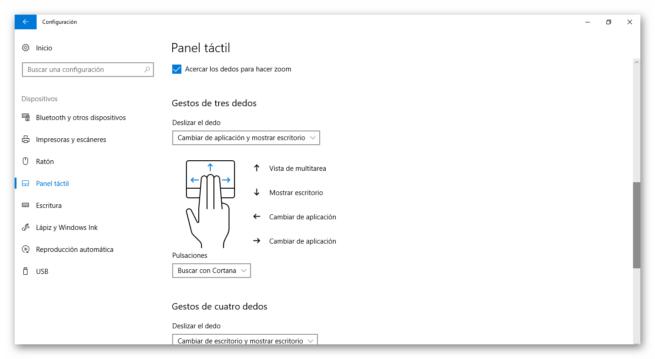 touchpad del portátil