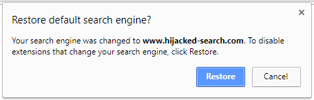 Eliminar extensiones maliciosas Chrome